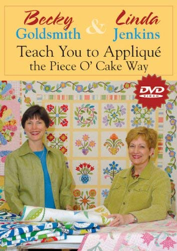 DVD Becky & Linda Teach You Applique Poc: At Home with the Experts #1