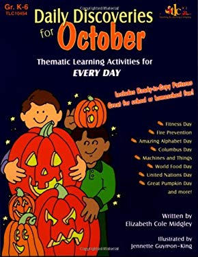 Daily Discoveries for October: Thematic Learning Activities for Every Day, Grades K-6 9781573104548