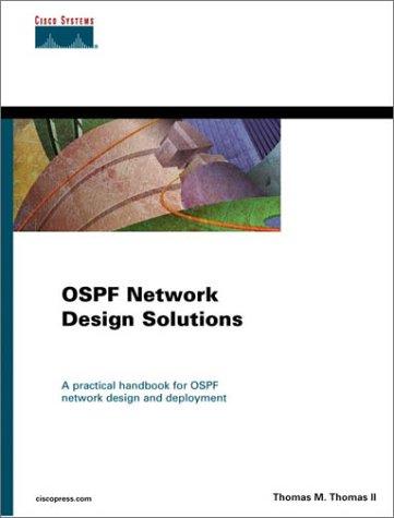 Designing Ospf Network Design Solutions