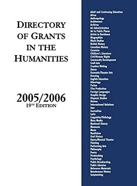 Directory of Grants in the Humanities, 2005/2006 9781573566162