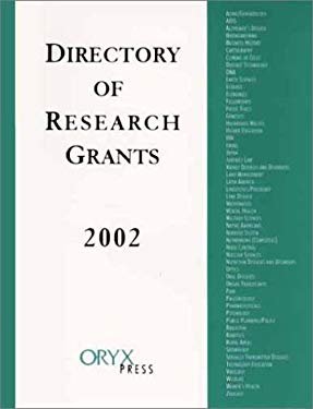 Directory of Research Grants 2002 9781573564885