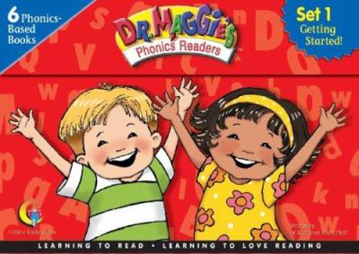 Dr Maggie's Phonics Readers, Set 1: Getting Started! [With Parent Guide] 9781574719833