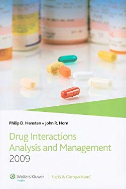 Drug Interactions Analysis and Management 9781574393118
