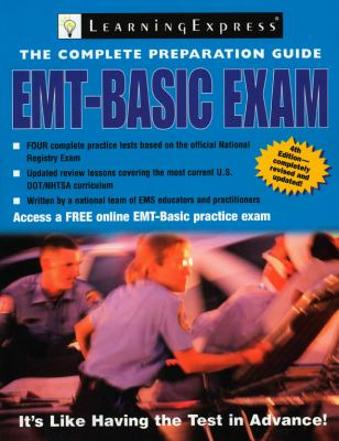 EMT-Basic Exam [With Access Code] 9781576856208