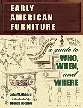 Early American Furniture: A Guide to Who, When, and Where 9781574324891