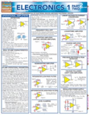 Electronics 1 Part Two Laminate Reference Chart 9781572225305