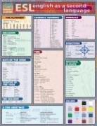 English as a Second Language Laminate Reference Chart
