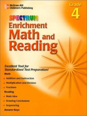 Enrichment Math and Reading Grade 4 9781577685043
