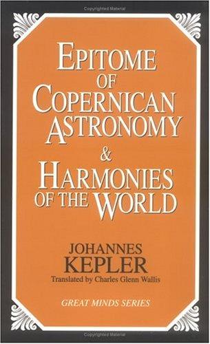 Epitome/Copernican Astronomy/Harm 9781573920360