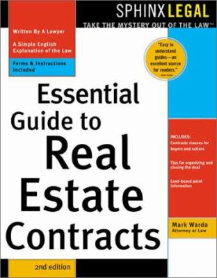 Essential Guide to Real Estate Contracts 9781572483460
