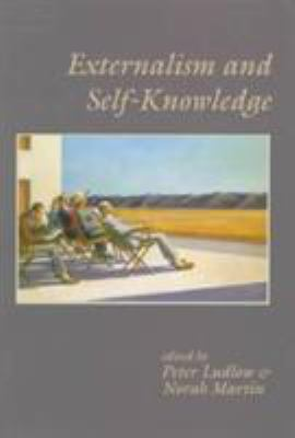 Externalism and Self-Knowledge 9781575861067