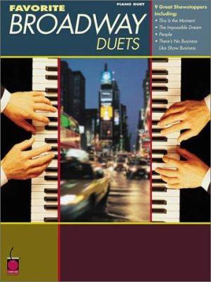Favorite Broadway Duets 9781575601694