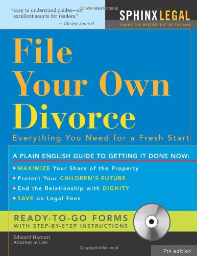 File Your Own Divorce [With CDROM] 9781572486270