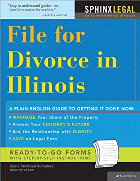 File for Divorce in Illinois 9781572485105