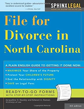 File for Divorce in North Carolina 9781572485082