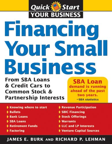 Financing Your Small Business 9781572485532