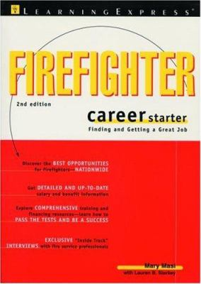 Firefighter Career Starter 9781576853658