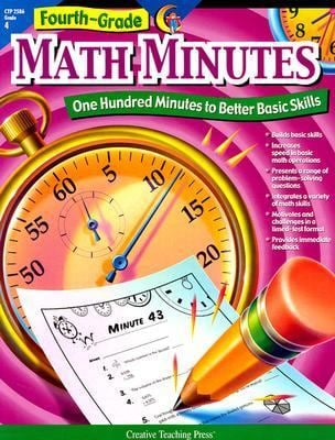Fourth-Grade Math Minutes: One Hundred Minutes to Better Basic Skills 9781574718157