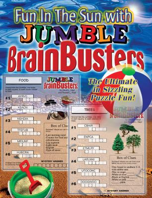 Fun in the Sun with Jumble Brainbusters: The Ultimate in Sizzling Puzzle Fun 9781572437333
