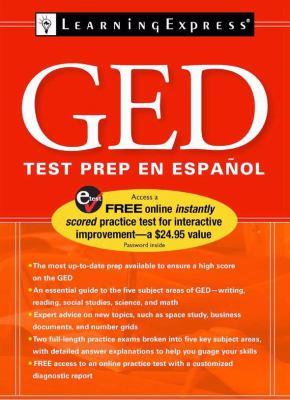 GED Preparacion Para Examen En Espanol 9781576856697