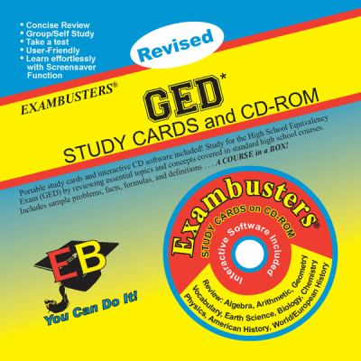GED Study Cards and CD-ROM [With CDROM] 9781576334157