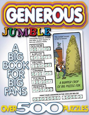 Generous Jumble: A Big Book for Big Fans 9781572433854