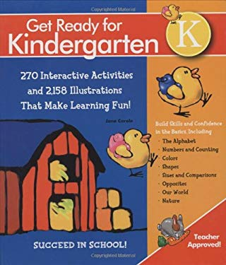Get Ready for Kindergarten!: 1,107 Interactive and Educational Exercises for Curriculum-Based Learning That's Fun! 9781579124502