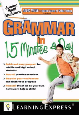 Grammar in 15 Minutes a Day [With Free Online Practice Exercises Access Code] 9781576856628