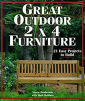 The third in a highly popular 2 x 4 series, this book features attractive and inexpensive outdoor furniture to build with basic tools and off-the-shelf lumber. Woodworkers of all levels will enjoy building these 21 good-looking and functional projects, thanks to easy-to-follow instructions, full-color photos, and detailed drawings.