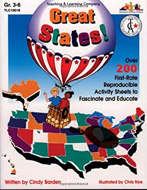 Great States!: Over 200 First-Rate Reproducible Activity Sheets to Fascinate and Educate 9781573100182