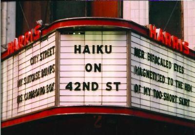 Haiku on 42nd St.: A Celebration of Urban Poetry & Art