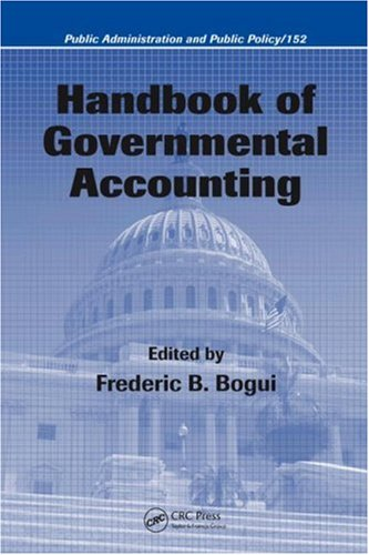 Handbook of Governmental Accounting 9781574447583