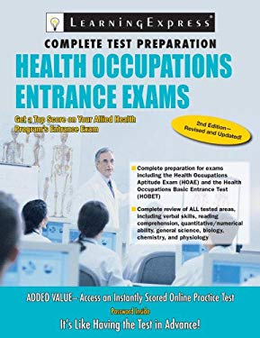 Health Occupations Entrance Exam 9781576857168