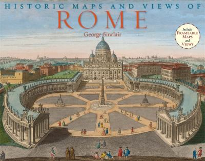 Historic Maps and Views of Rome 9781579127992