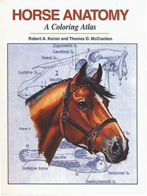 Horse Anatomy: A Coloring Atlas 9781577790211