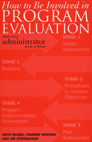How to Be Involved in Program Evaluation: What Every Adminstrator Needs to Know 9781578862511