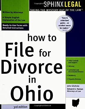 How to File for Divorce in Ohio, 3e 9781572485037