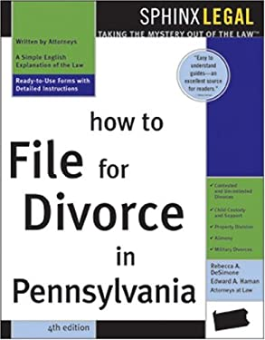 How to File for Divorce in Pennsylvania 9781572484955