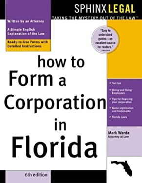 How to Form a Corporation in Florida 9781572483569