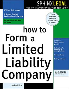 How to Form a Limited Liability Company 9781572482227