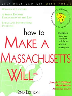 How to Make a Massachussetts Will 9781572481084