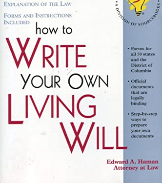 How to Write Your Own Living Will 9781570711671