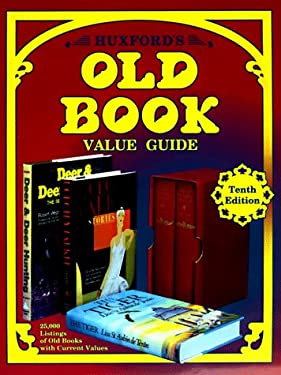 Huxford's Old Book: Value Guide