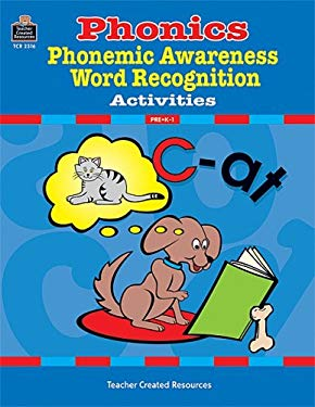 Ihonics, Phonemic Awareness, and Word Recognition Activities 9781576903162