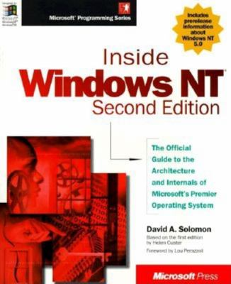 Inside Windows NT 9781572316775