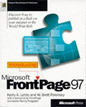 Introducing Microsoft FrontPage 97 9781572315716