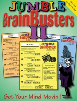 Jumble Brainbusters II: Get Your Mind Movin'! 9781572434240
