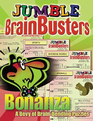Jumble Brainbusters Bonanza 9781572436169