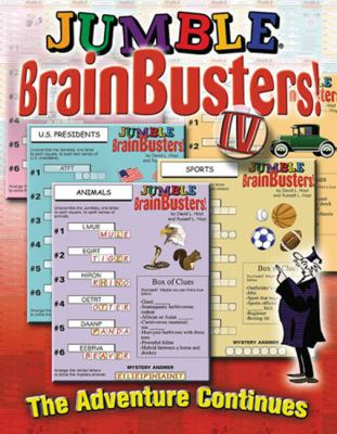 Jumble Brainbusters! IV: The Adventure Continues 9781572434899
