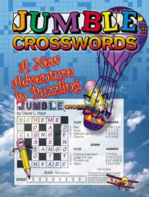 Jumble Crosswords Challenge: A New Adventure in Puzzling 9781572434233